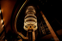Chandelier at the Ambassador Auditorium